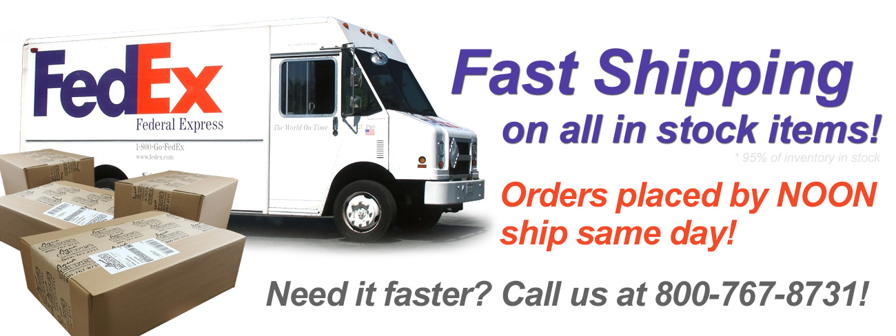 aqua science fast shipping on instock items