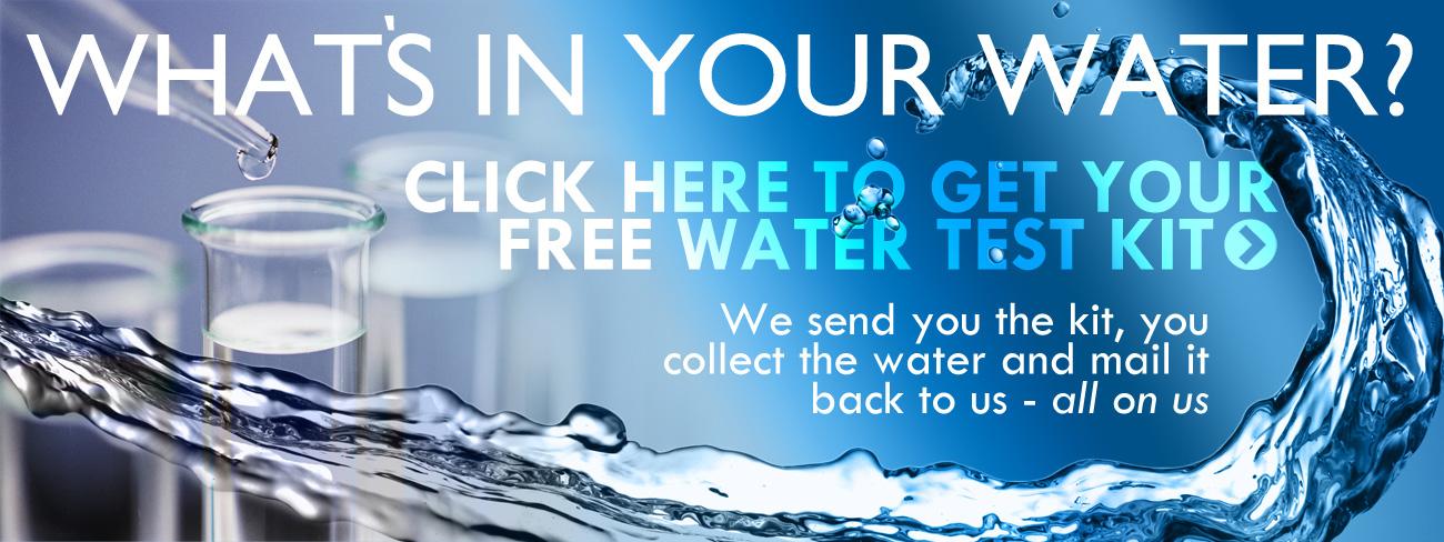 Free water test kit