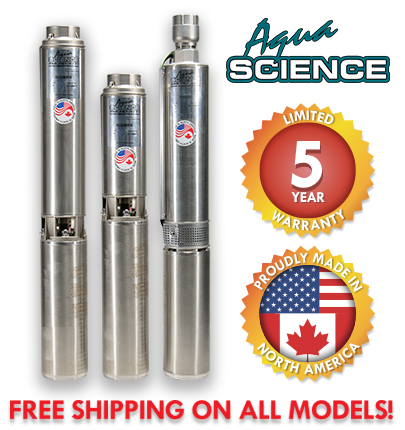 Aqua Science Submersible Well Pumps