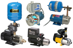 Booster Pumps from AY McDonald, Goulds, Grundfos, Walrus & Davey