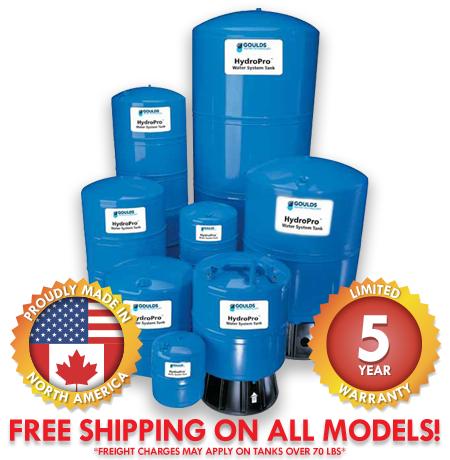 Goulds HydroPro Pressure Tanks
