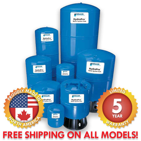 Goulds HydroPro Pressure Tanks