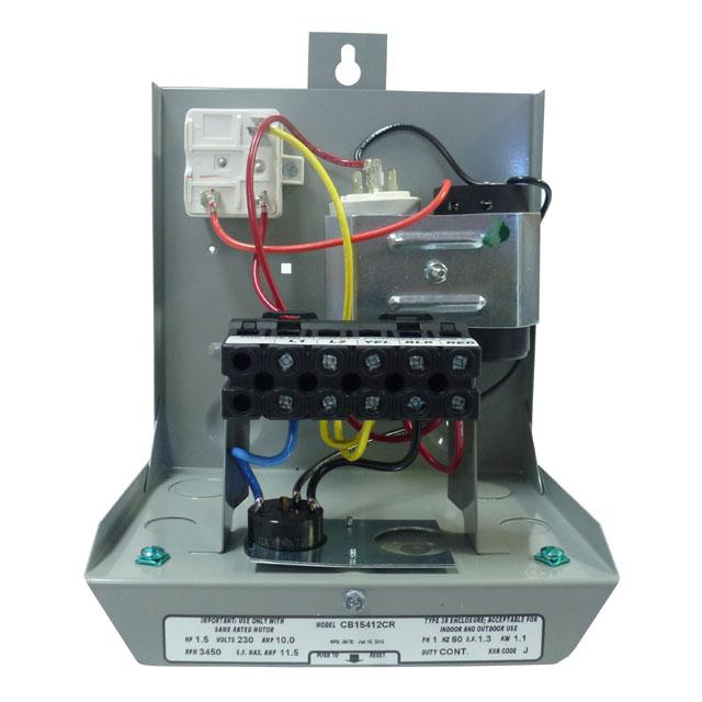 goulds control box for 3 wire 2hp 230v motors. Black Bedroom Furniture Sets. Home Design Ideas