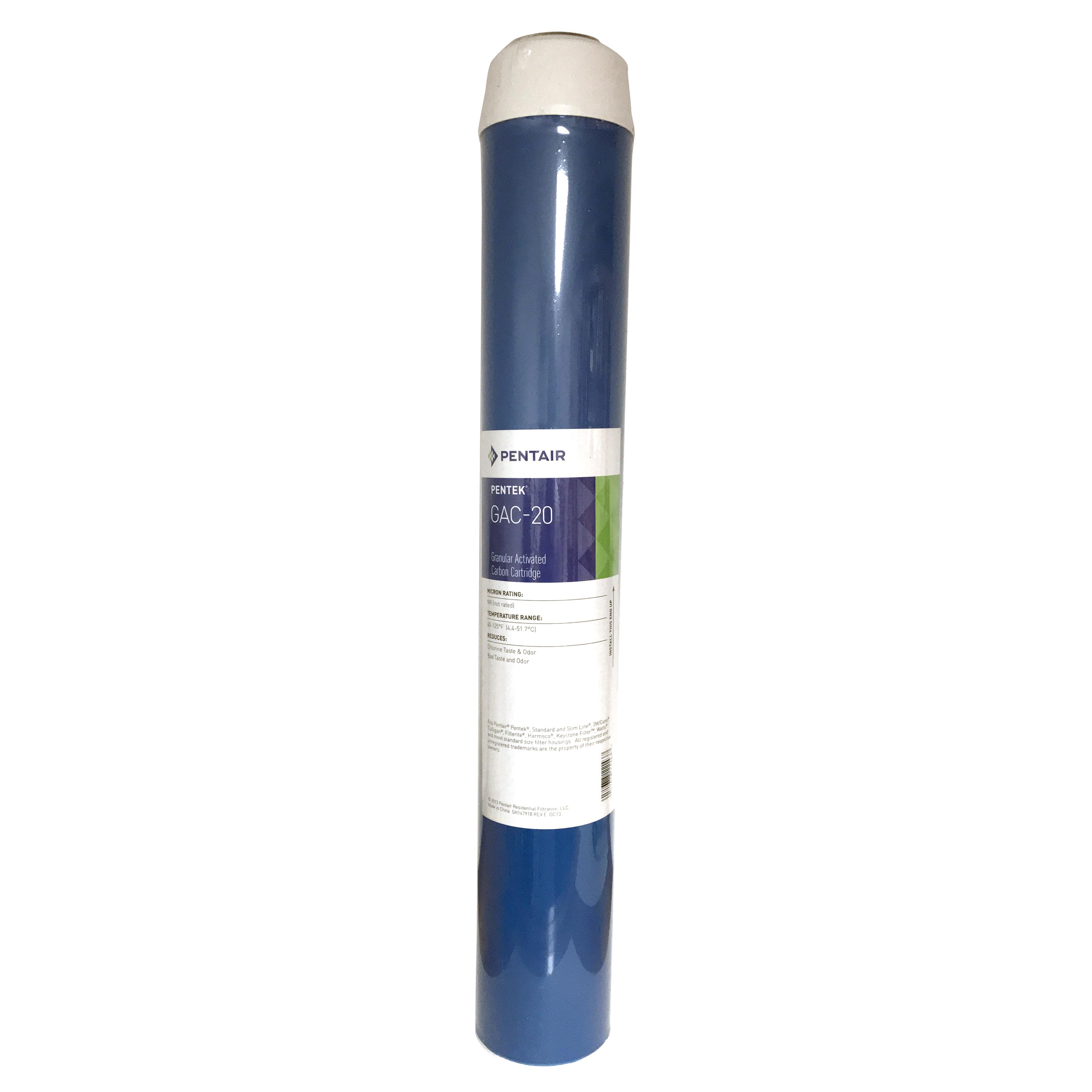 Pentek Gac 20 Granular Activated Carbon Cartridge