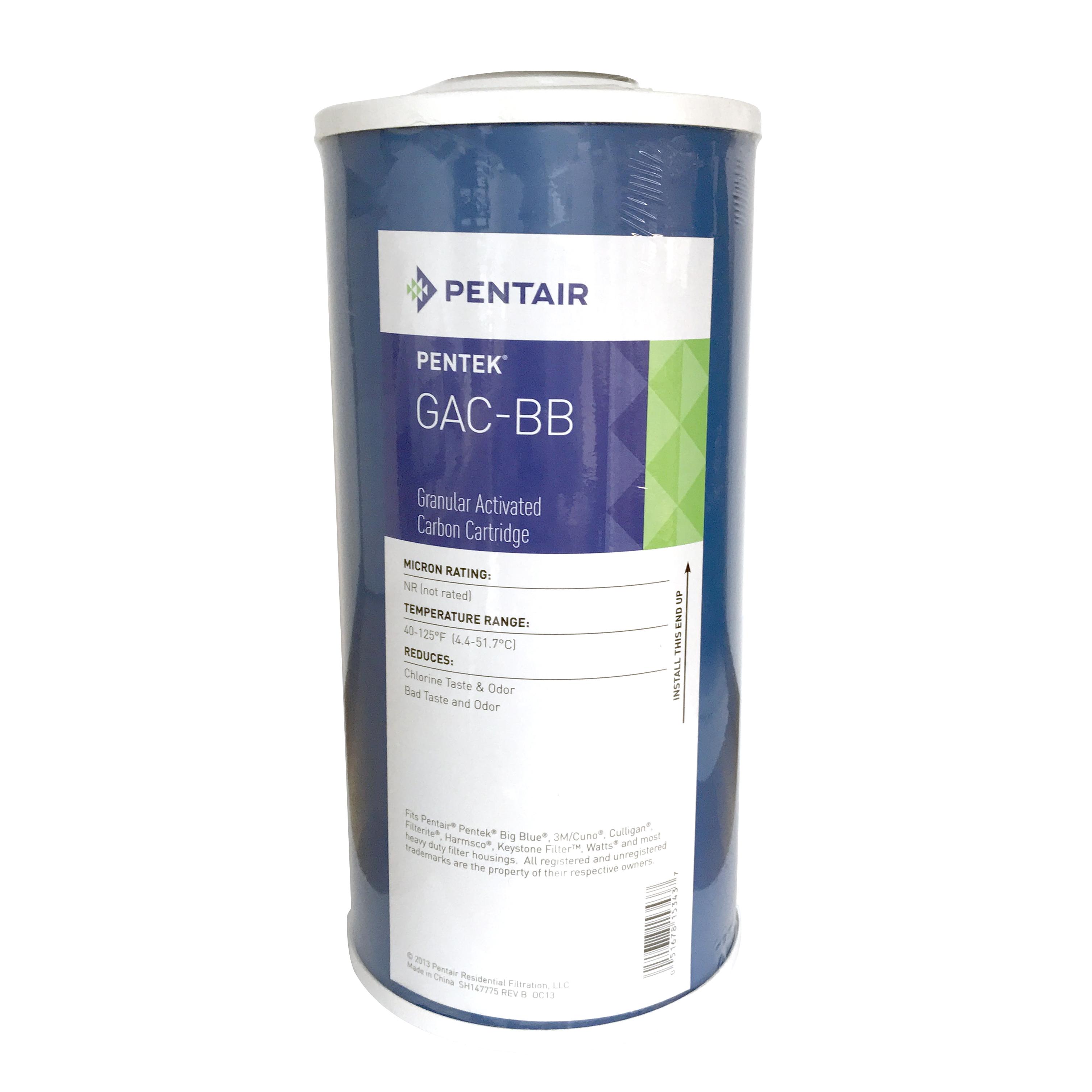 Pentek Gac 10bb Granular Activated Carbon Cartridge