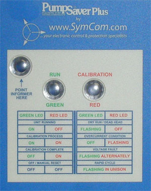 Symcom Pump Saver Plus Pump Protector For 115v 1 3 Hp To