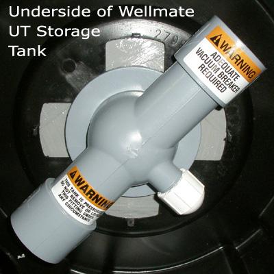 Wellmate Ut 40 40 Gallon Quick Connect Series Universal