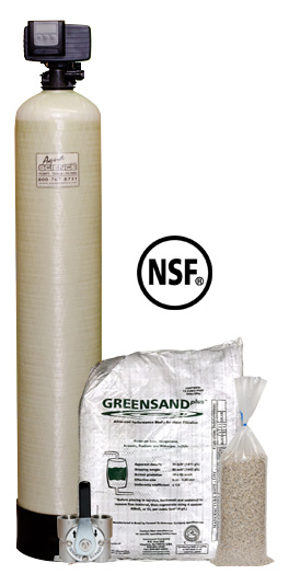 GreensandPlus Water Filtration (Iron, Manganese & Hydrogen Sulfide Removal)