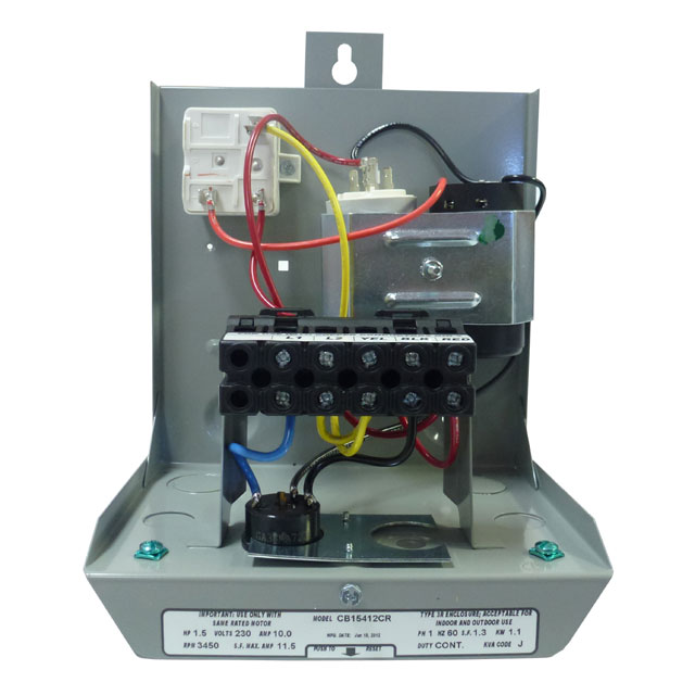 Goulds Control Box For 3 Wire  5hp  230v Motors