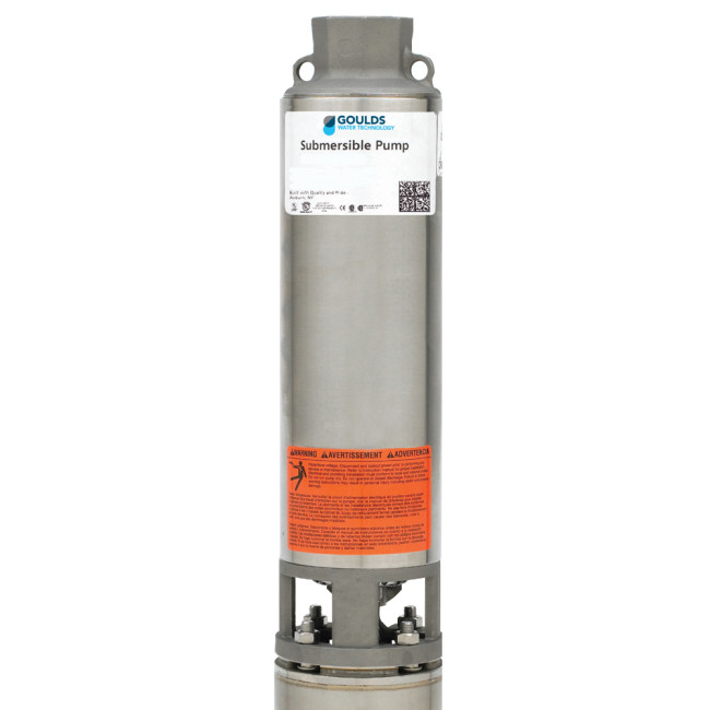 Goulds 5gs07422c 5gpm 3 4hp 230v 2 Wire 4 Stainless Steel Submersible Well Pump