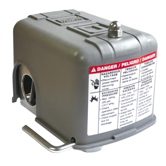 40//60 Psi Dpst Standard Pressure Switch